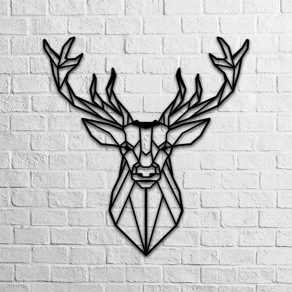 Deer Head Metal Decor Artunga